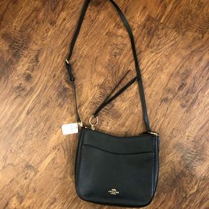 BRAND NEW Black Coach Crossbody Messenger Bag